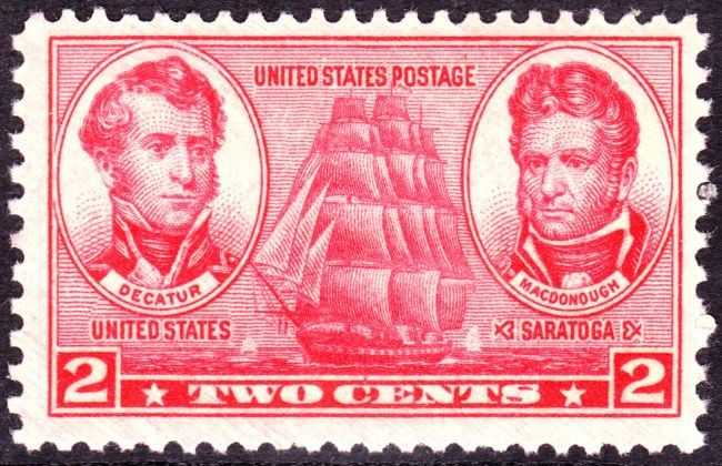 [Army and Navy Issue: Stephen Decatur and Thomas Macdonough]