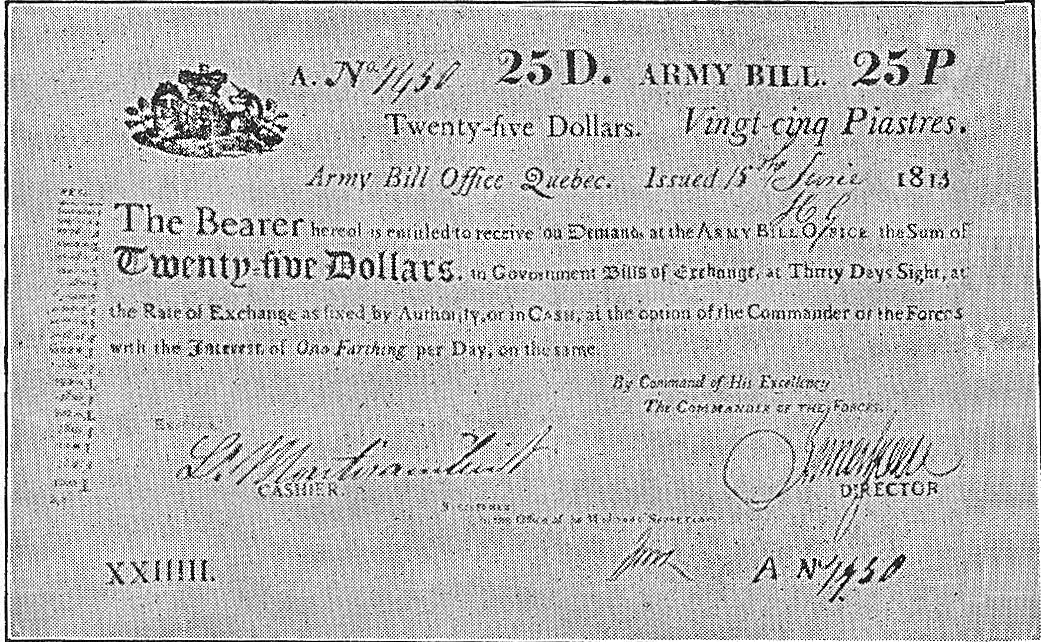 [Army Bill of 1813]