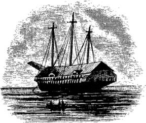 "[Chauncey's Dismantled Flag-Ship ""Superior""]"
