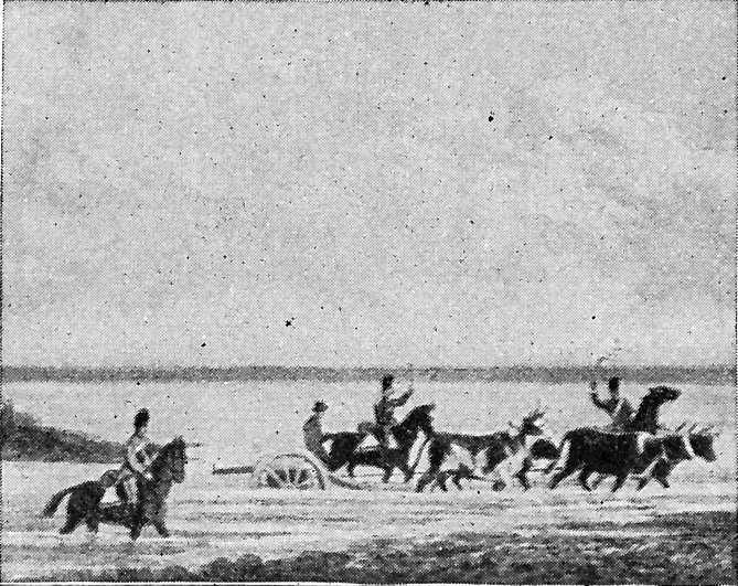 "[Hauling Cannon, From ""Upper Canada Sketches.""]"
