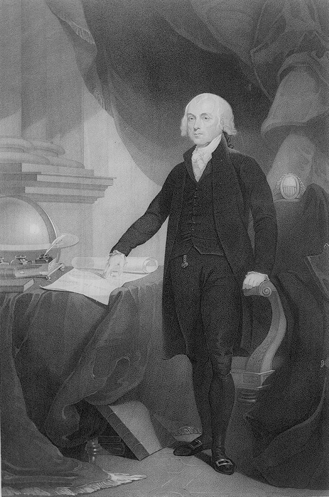 [Portrait of James Madison, by W. H. Morgan.]