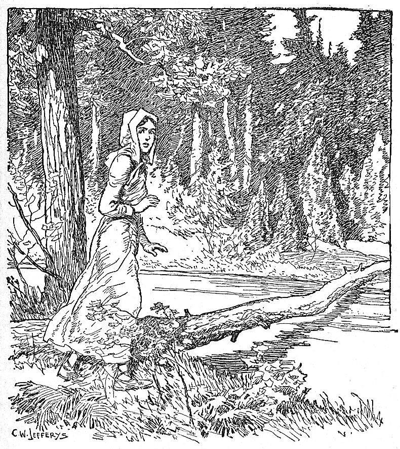 [Laura Secord on her Journey to Warn the British]