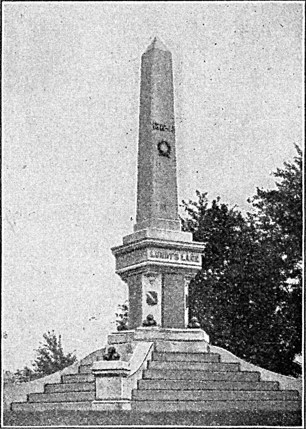 [Monument at Lundy's Lane.]