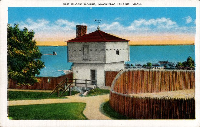 [Old Block House, Mackinac Island, Mich.]