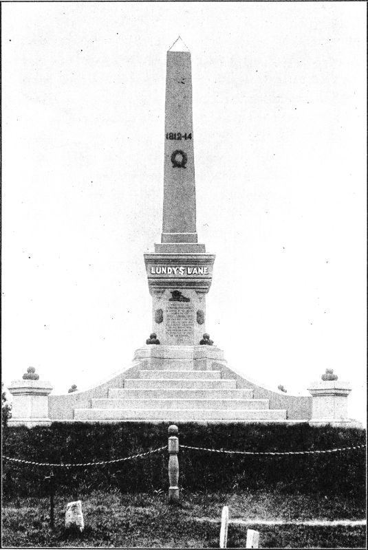 [Soldier's Monument —Lundy's Lane]